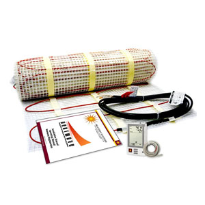 Heatwave Mat Floor Heating Kit W/ Thermostat